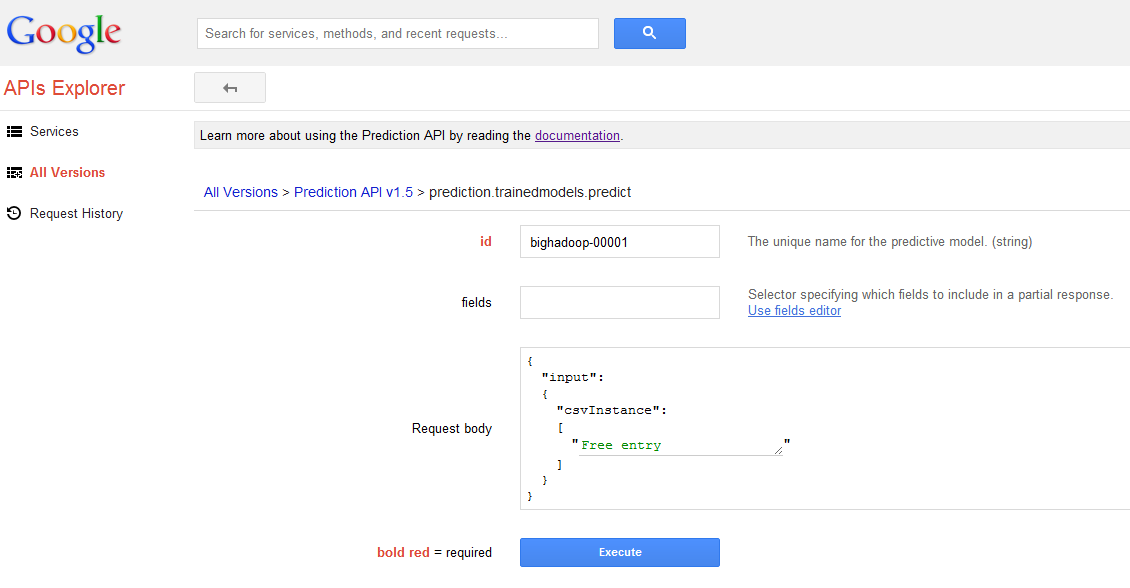 GooglePrediction-SpamPredict1